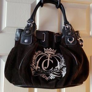 Juicy Couture black shoulder bag